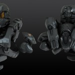 Halo 4 Didact Ship and Armor Sets by Efgeni Bischoff