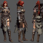 Guild Wars 2 Character Art by Donald Phan