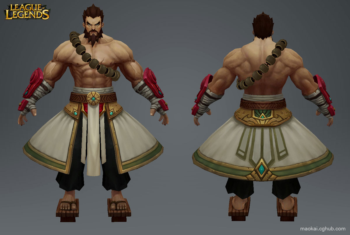 League of Legends Character Udyr