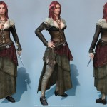 Assassin's Creed IV: Black Flag Character Art by Marthin Agusta Simny