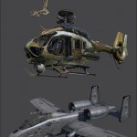 Call Of Duty Ghosts Vehicles And Weapon Art by Taehoon Oh